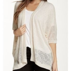 NWT Painted Threads Elizabeth Open Front Cardigan
